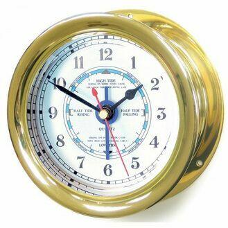 Capstan Brass Tide Clock