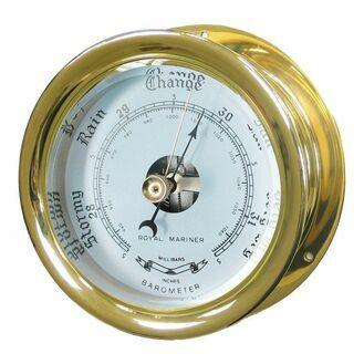 Capstan Brass Barometer