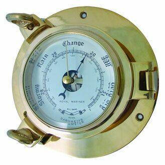 Porthole Style Large Barometer