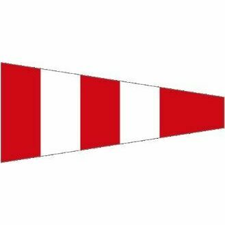 Meridian Zero Answering Pennant Signal Flag