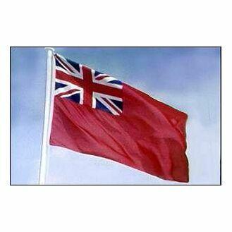 Meridian Zero Printed Red Ensign Flag