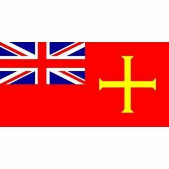 Meridian Zero Guernsey Red Ensign Flag - 30 x 45cm