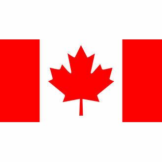 Meridian Zero Canada Courtesy Flag - 30 x 45cm