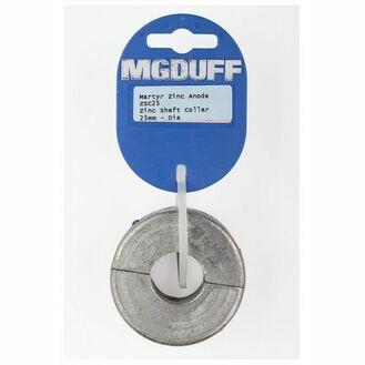 MG Duff Collar anode - ZSC25 Shaft Collar 25mm