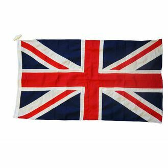 Meridian Zero Sewn Union Jack Flag  - 1 + 1/2 Yard (68.5 x 137cm)