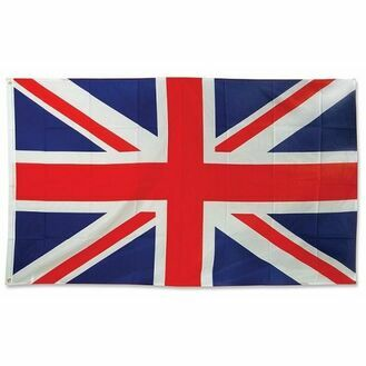 Meridian Zero Printed Union Jack Flag - 1 Yard (46 x 91.5cm)