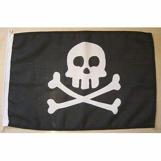 Meridian Zero Jolly Roger Pirate Flag