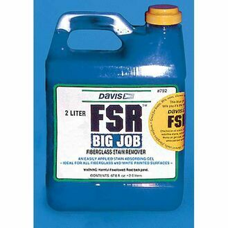 FSR Big Job Fiberglass Stain Remover by Davis