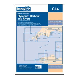 Imray C14 Plymouth Harbours & Rivers