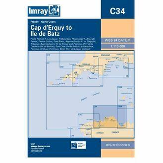 Imray C34 Cap D~Erquy to Ile De Batz
