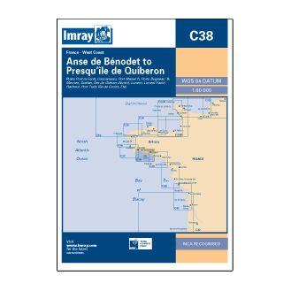 Imray C38 Benodet to Presquile de Qui beron