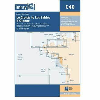 Imray C40 Le Croisic to Les Sables d'Olonne