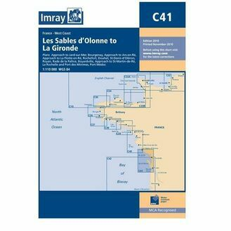 Imray C41 Les Sables d'Olonne to La Gironde
