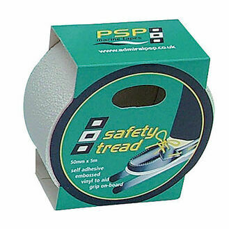 Safety Tread Tape: 50mm x 5M - Clear