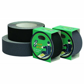 Soft Grip Tape: 50mm X 4M - Grey