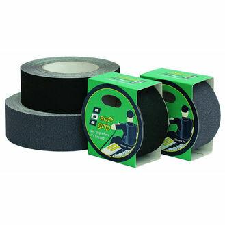 Soft Grip Tape: 50mm x 25M - Black