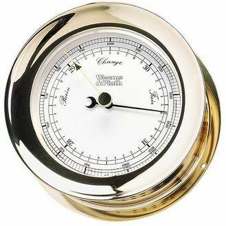 Weems & Plath Brass Atlantis Barometer