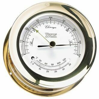 Weems & Plath Atlantis Barometer and Thermometer Combination