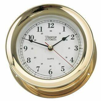 Weems & Plath Admiral Quartz Clock