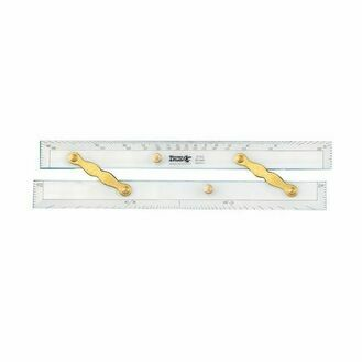 Weems & Plath Deluxe Chart Plotting Brass Arm Parallel Ruler - 15 Inch