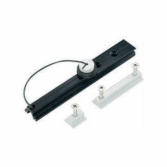 Harken 13 mm Track Endstop Kit Round Mast Groove, Screwpin