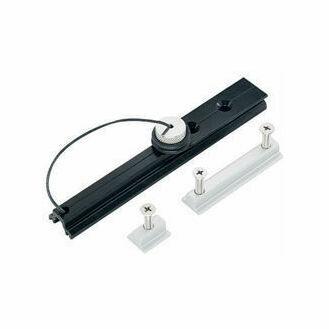 Harken 13 mm Track Endstop Kit Wide Flat Mast Groove, Screwpin