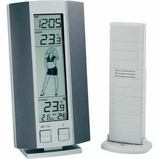 Nauticalia Digital Weather Girl Station Thermometer