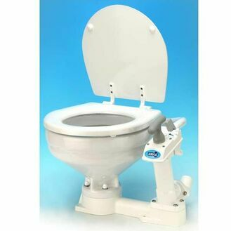 Jabsco Toilet Twist 'N' Lock - Compact Bowl