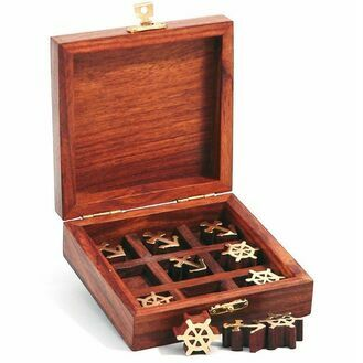 Nauticalia Tic Tac Toe Wooden Game