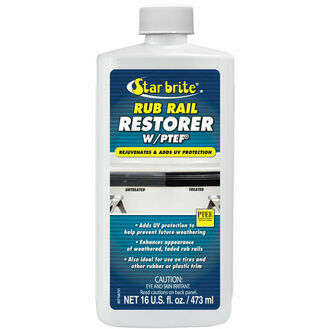Starbrite Rub Rail Restorer with PTEF
