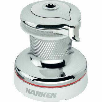Harken 46 Self-Tailing Radial White Winch 2 Speed