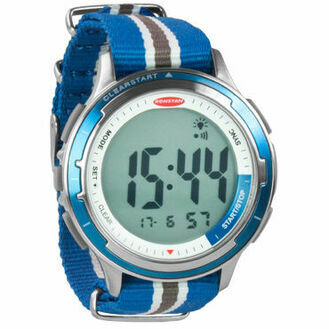 Ronstan ClearStart™ Stainless Steel Watch - Blue