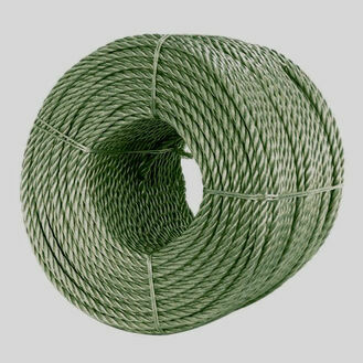 Polyprop Rope 6mm x 210m GREY/GREEN