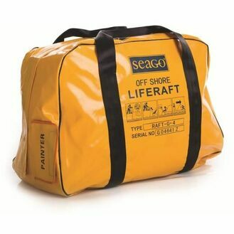 Liferaft Hire - 4 Man Valise