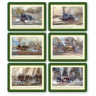Nauticalia Steam Train Tablemats
