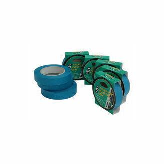PSP Tapes Blue 7 Day Masking Tape - 25mm x 50m