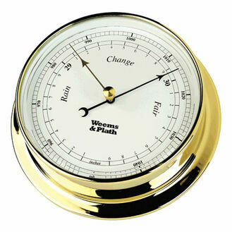 Weems & Plath Endurance 085 Barometer (Brass)
