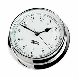 Weems & Plath Endurance 085 Clock (Chrome)