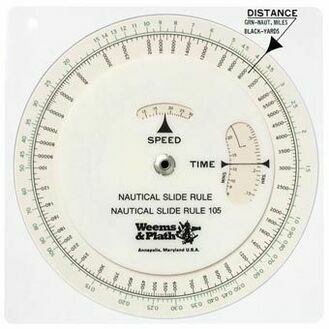 Weems & Plath Nautical Slide Rule
