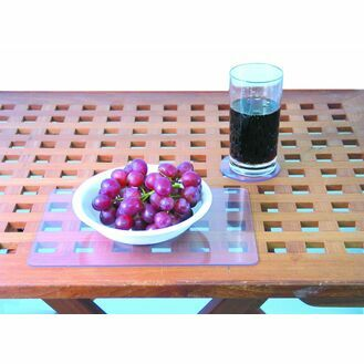 Clear PVC Plate Placemat - 2mm Thick