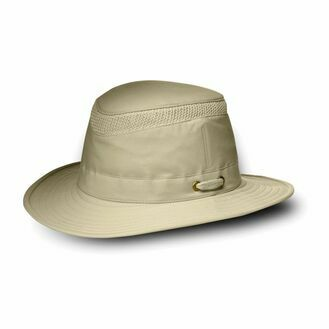 Tilley LTM5 Medium Curved Brim Airflow® Hat - Khaki/Olive Underbrim