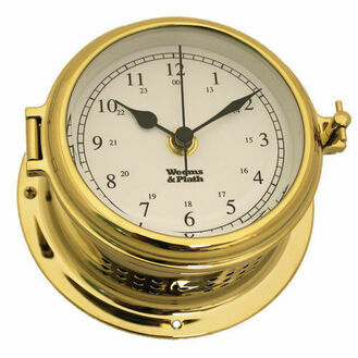 Weems & Plath Endurance II 115 Quartz Clock (Available in Chrome and Brass)