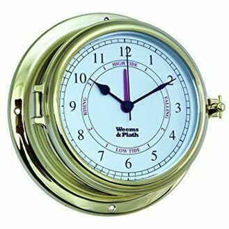 Weems & Plath Endurance II 115 Time and Tide Clock (Brass)