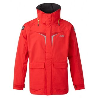Gill OS3 Coastal Men's Jacket - Dark Blue/Bright Red/Graphite