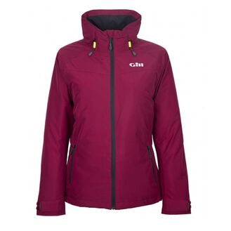 Gill Women's Pilot Jacket - Berry/Graphite/Silver