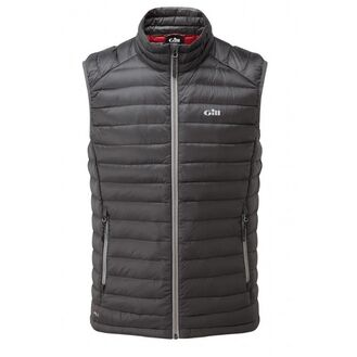 Gill Men's Hydrophobe Down Gilet - Charcoal