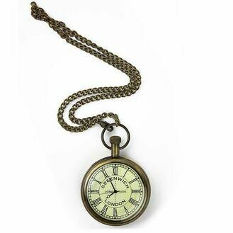 Nauticalia Greenwich Meridian Pocket Watch