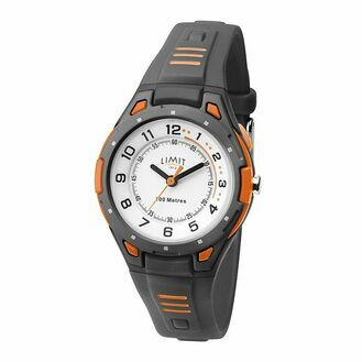 Limit Sports Watch - Grey/Orange