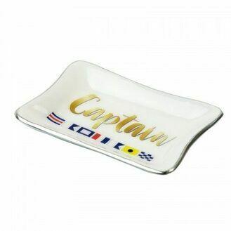 Nauticalia 'Captain' Tray - Gold