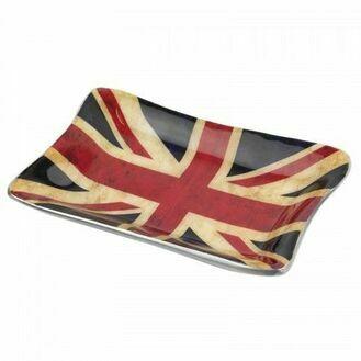 Nauticalia 'Union Jack Flag' Tray - Distressed Design